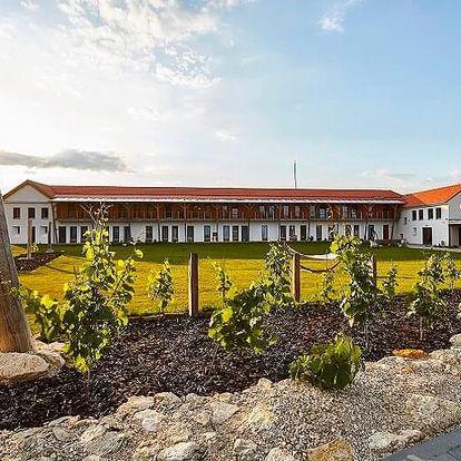 Designový vinařský hotel v Mikulově