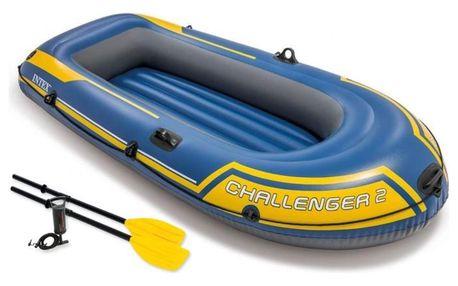 Nafukovací člun INTEX Challenger 2 Set