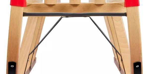 Sáně dřevěné VT-SPORT Davos délka 120 cm4