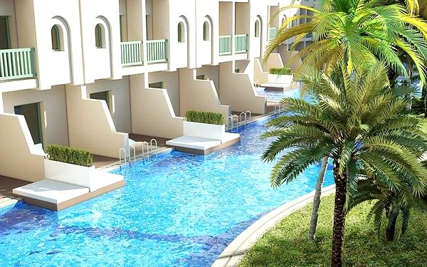 Hotel Ulysse Resort & Thalasso, Djerba, letecky, all inclusive2