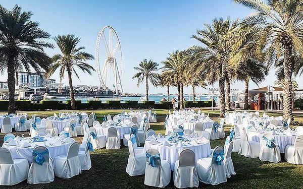 Hotel Sheraton Jumeirah Beach Resort, Dubaj, letecky, snídaně v ceně2