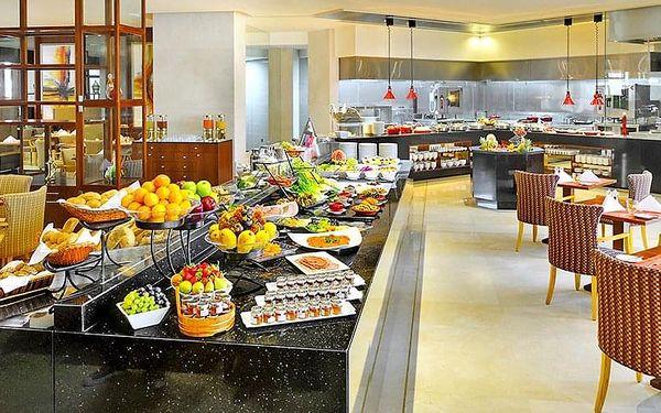 Hotel Crowne Plaza Jumeirah, Dubaj, letecky, snídaně v ceně5