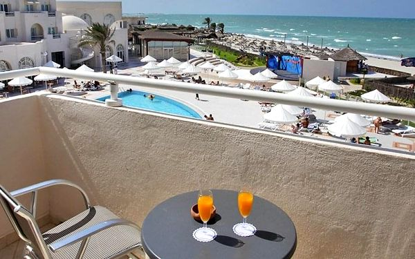 Hotel Telemaque Beach & Spa, Djerba, letecky, all inclusive5
