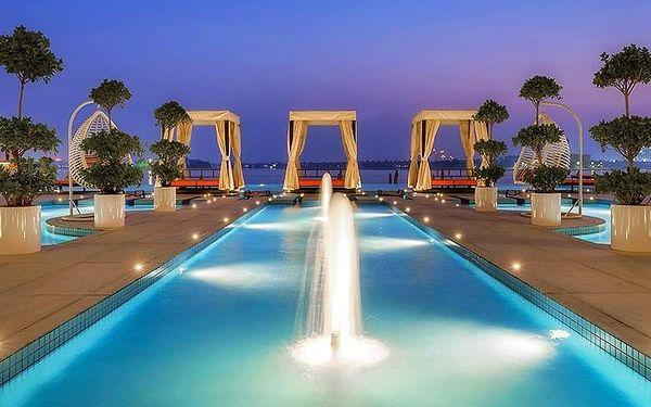 Hotel Royal Central The Palm, Dubaj, letecky, snídaně v ceně2