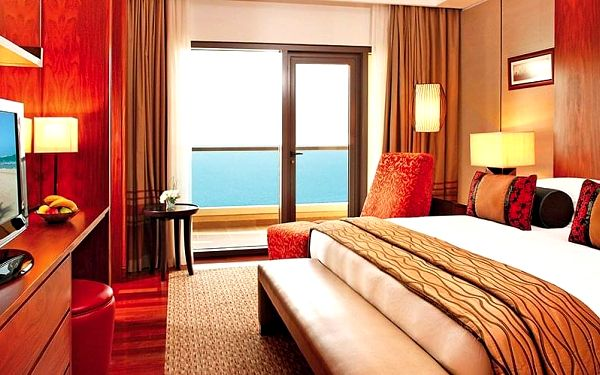 Hotel Amwaj Rotana Jumeirah Beach, Dubaj, letecky, snídaně v ceně4