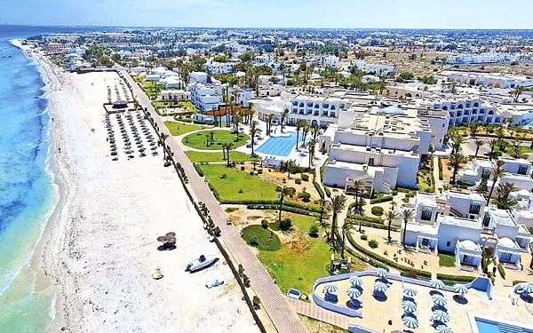 Hotel Aljazira Beach & Spa, Djerba, letecky, all inclusive