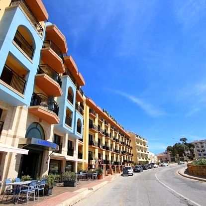 Malta - Mellieha letecky na 8 dnů