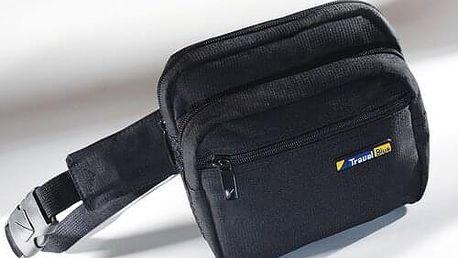 TravelBlue Stylová ledvinka 3 kapsy materiál nylon TBU635