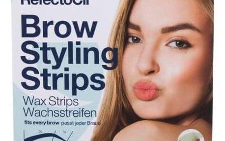 RefectoCil Brow Styling Strips 20 ks depilační voskové proužky na obočí pro ženy