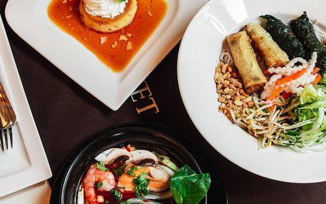 Otevřený voucher do vietnamské restaurace