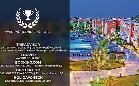 Egypt - Hurghada letecky na 4-15 dnů, ultra all inclusive