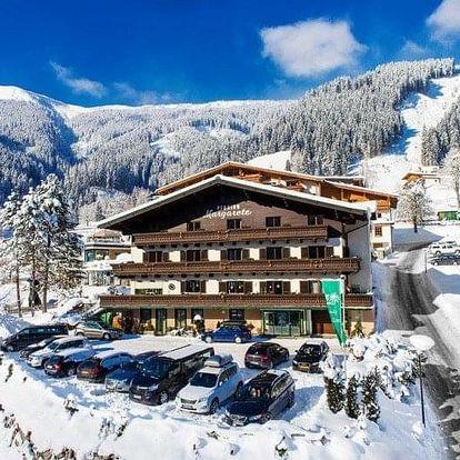Rakousko - Kaprun - Zell am See na 8 dnů, snídaně v ceně
