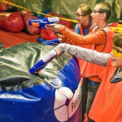 Nerf Arena: 1, 4 či 10 tréninků pro děti