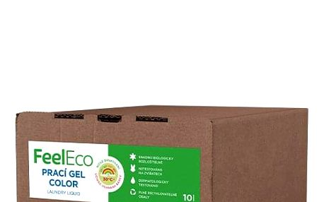 Feel Eco Prací gel Color Bag in Box 10l, 166PD