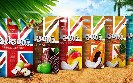Balíčky prémiového sušeného ovoce: 6 příchutí