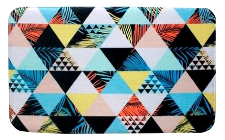Domarex Koberec z paměťové pěny Soft Geometry, 50 x 80 cm