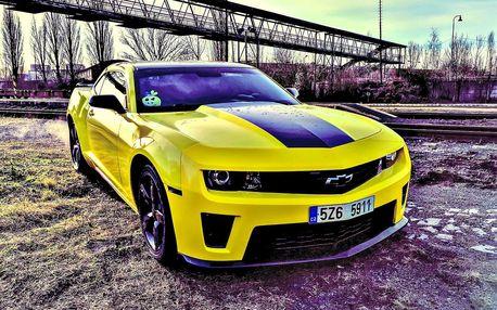 Jízda v americkém monstru – Chevroletu Camaro SS 6.2 – na 40 min