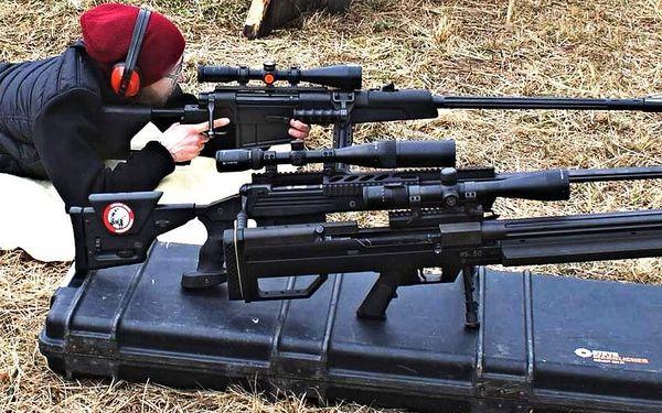 Střelecký balíček Sniper – neviditelný střelec (8 zbraní, 44 nábojů)3