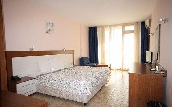 hotel Dolphin, Ravda, Bulharsko, Ravda, letecky, polopenze2