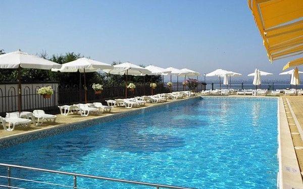 hotel Dolphin, Ravda, Bulharsko, Ravda, letecky, polopenze3