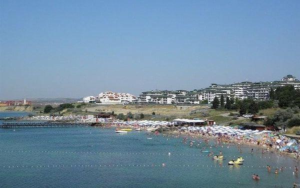 hotel Dolphin, Ravda, Bulharsko, Ravda, letecky, polopenze4
