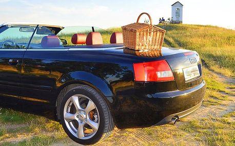 Projížďka kabrioletem mezi vinicemi i s piknikem