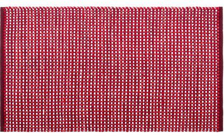 BO-MA Trading Kusový bavlněný koberec Elsa červená, 70 x 120 cm