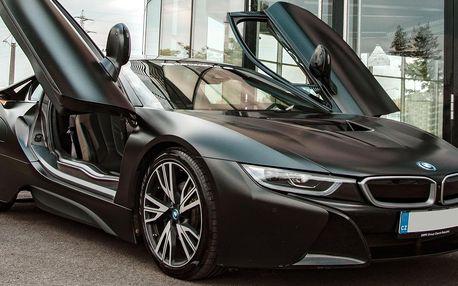 Jízda v BMW i8 Frozen Black Edition