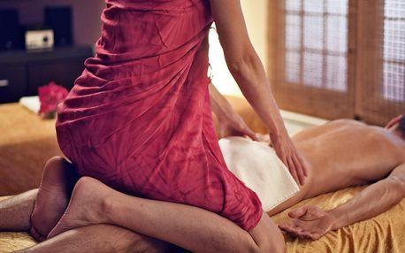 Tantrická masáž pro ženy, muže i páry: až 120 min.