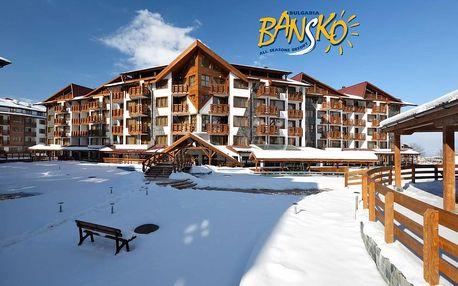 6denní zájezd se skipasem Bansko ski | Hotel Belvedere**** | V ceně doprava, ubytování, polopenze, skipas