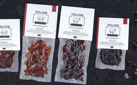 Sušené maso české výroby: vepřové, krůtí i hovězí