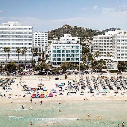 Španělsko - Mallorca letecky na 10-13 dnů, snídaně v ceně