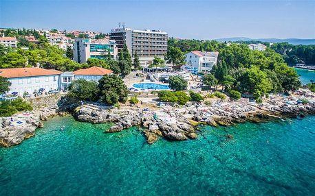 Chorvatsko - Krk na 4-5 dnů, polopenze