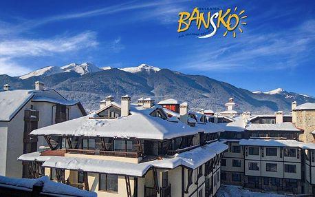 Týden s polopenzí Bansko ski | Hotel Maria Antoaneta**** | Bazén v ceně | Vlastní doprava