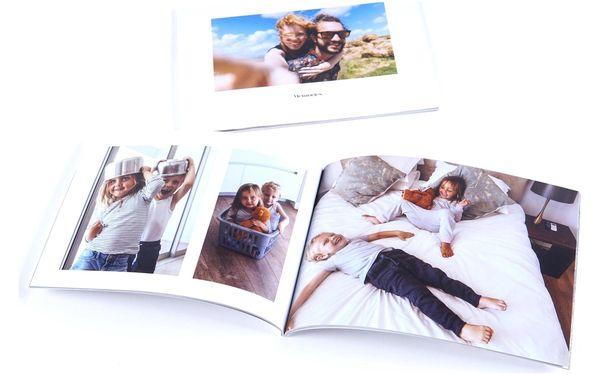 Mini fotokniha A5 na šířku - 32 stran, měkká vazba2