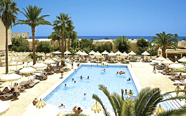 Hotel Omar Khayam Resort & Aquapark, Tunisko pevnina, letecky, all inclusive2
