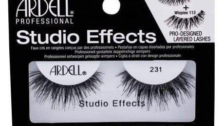 Ardell Studio Effects 231 Wispies 1 ks nalepovací řasy pro ženy Black