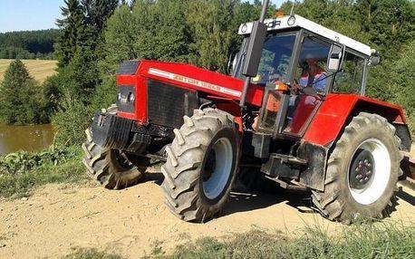 Offroadová jízda traktorem
