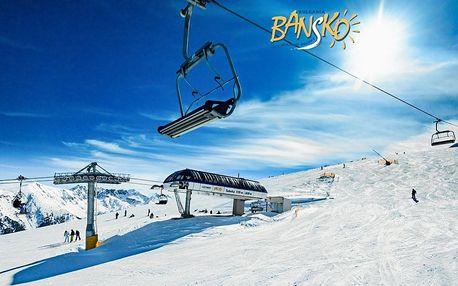 5–8denní Bansko ski | Hotel Momini Dvor*** | Přímo v centru | Sauna v ceně | Snídaně | Vlastní doprava