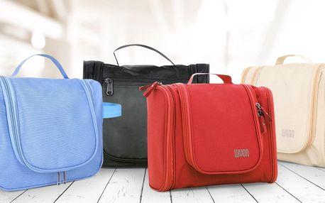 Na cesty: praktické kosmetické tašky