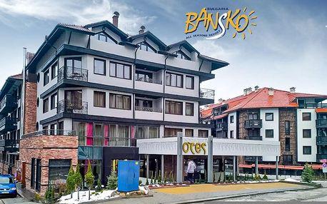 4–8denní Bansko ski | Hotel Ores***** | Lanovka 150 m od hotelu | Wellness v ceně | Vlastní doprava