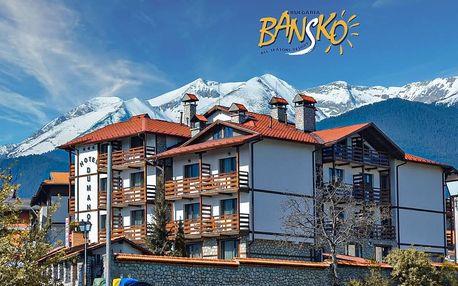 7–8denní Bansko | Hotel Dumanov*** | Lanovka 250 m od hotelu | Wellness v ceně | Vlastní doprava
