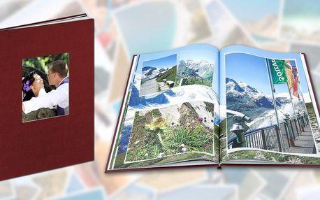 Fotokniha A4 v tvrdých plátěných deskách