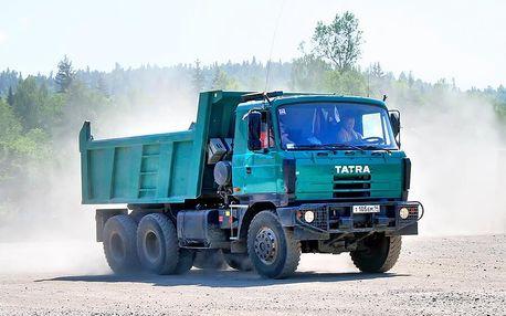 Zážitková jízda s Tatrou 815