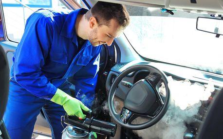 Základní či detailní čištění interiéru auta i tepování