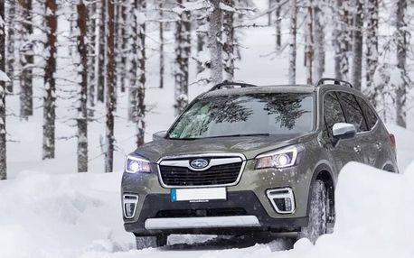 Kurz řízení na sněhu se Subaru 4x4