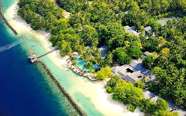 Hotel Royal Island Resort & Spa, Maledivy, letecky, polopenze2