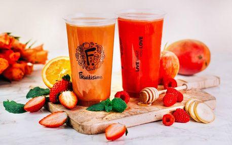 2× 0,5l drink Fruitisimo plný lásky a vitamínů