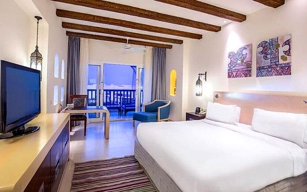 Hotel Hilton Marsa Alam Nubian Resort, Marsa Alam, Egypt, Marsa Alam, letecky, all inclusive5