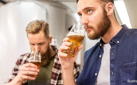 Degustace 4 řemeslných piv v chrudimském pivovaru